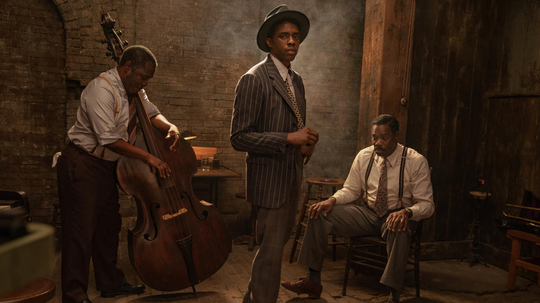 Chadwick Boseman in Ma Rainey's Black Bottom