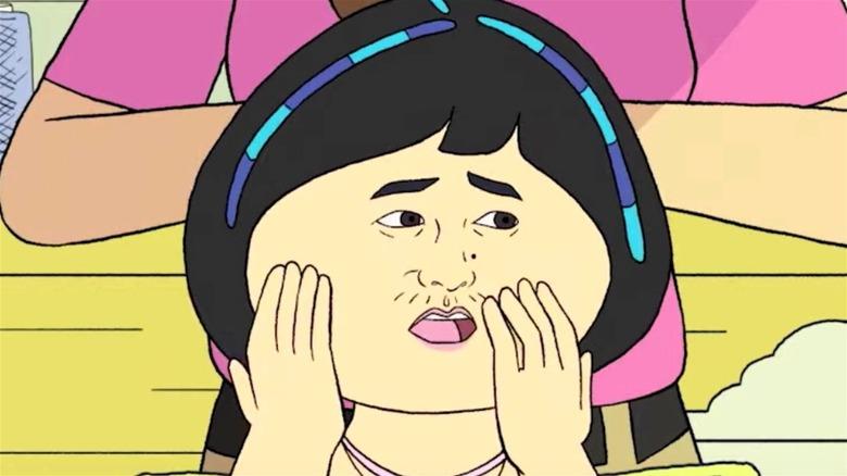 Animated Maya Eskrine in 'Pen15' trailer