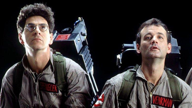 Ghostbusters Venkman and Spengler