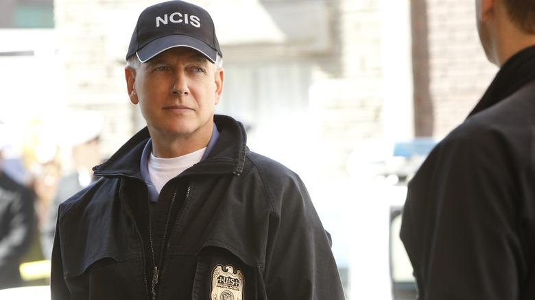 Mark Harmon as Gibbs on 'NCIS'