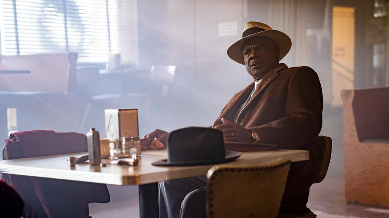 Fargo's Doctor Senator in a diner