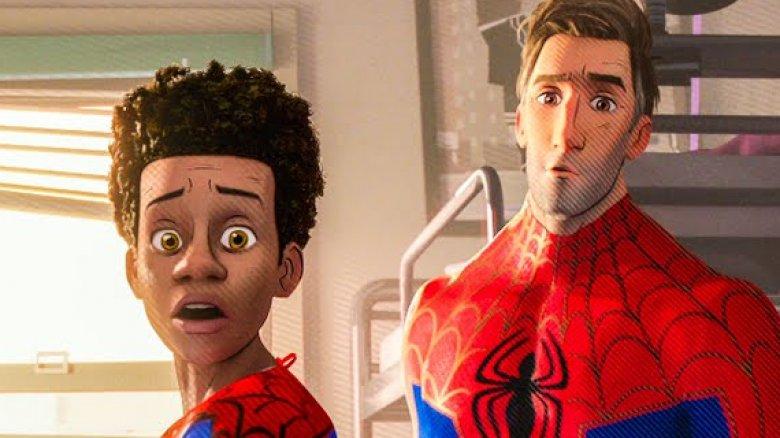 Spider-Man Into the Spider-Verse Peni Gwen Miles Peter Spider-Ham Spider Noir