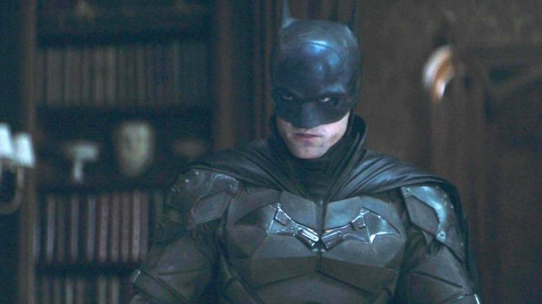 Robert Pattinson as Bruce Wayne/Batman in The Batman