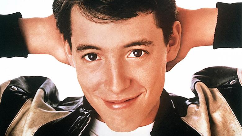 Ferris Bueller smiling slyly