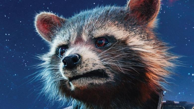 Rocket Raccoon in Guardians of the Galaxy