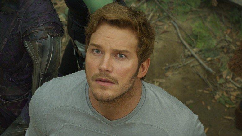 Chris Pratt Star-Lord Guardians of the Galaxy Vol. 2
