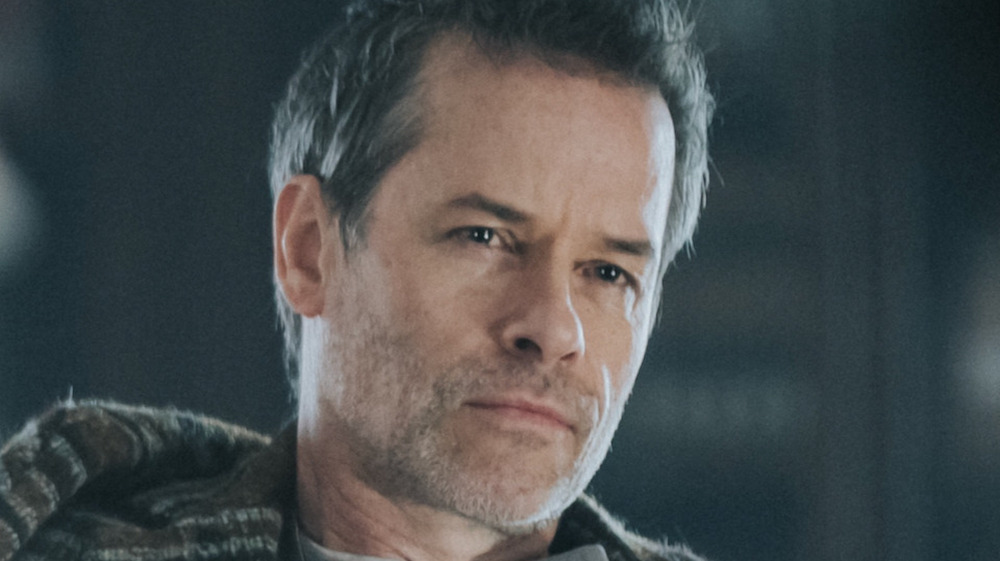 Guy Pearce Father Peter grim staring