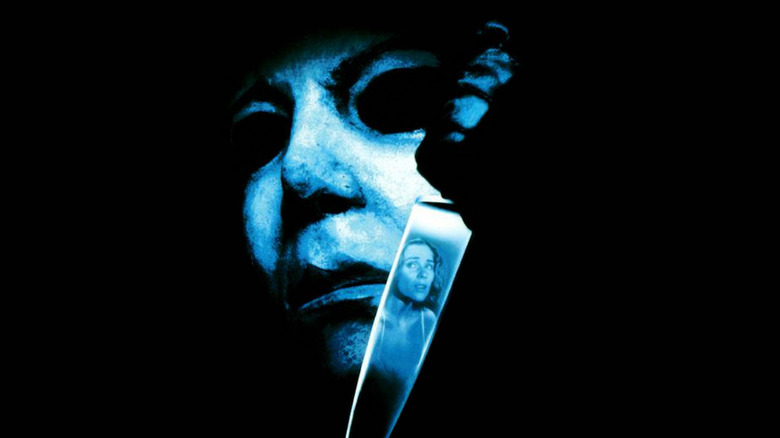 Michael Myers on poster for Halloween VI: The Curse of Michael Myers