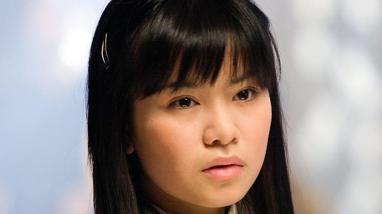 Katie Leung Cho Chang bangs