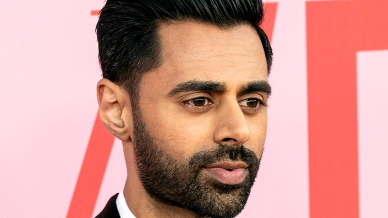Hasan Minhaj close-up