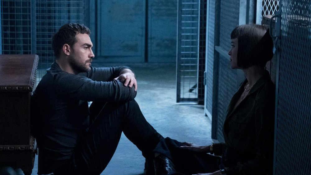 Daimon (Tom Austen) & Ana (Sydney Lemmon) on Helstrom