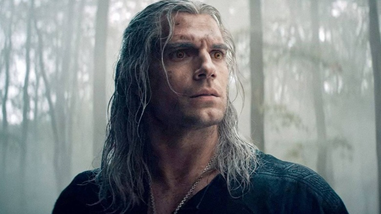 Henry Cavill as Geralt on The Witcher season 1