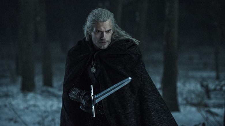 Henry Cavill as Geralt in The Witcher season two