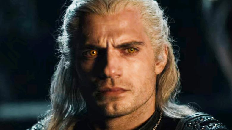 Henry Cavill Geralt yellow eyes