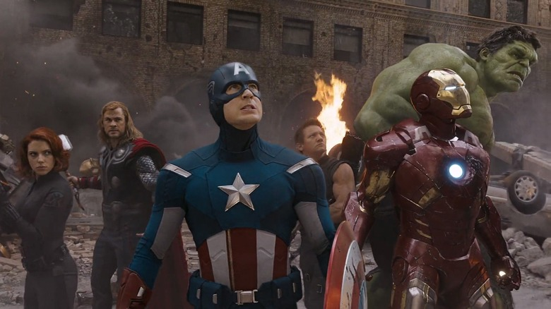 The Avengers assemble in The Avengers