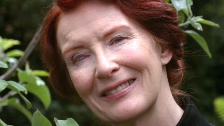 Frances Conroy as Moira O'Hara smiling