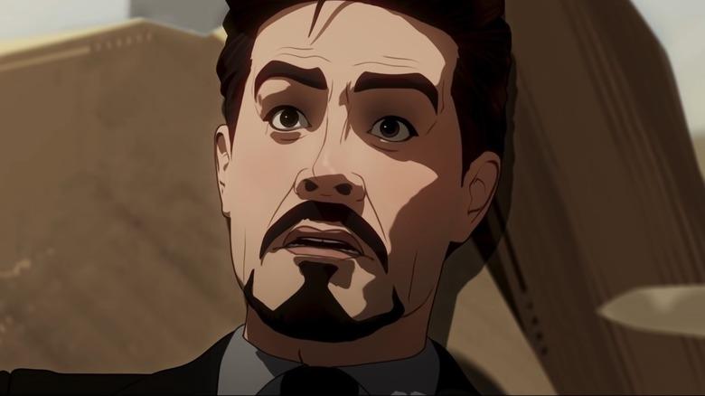 What If...? Iron Man Shocked