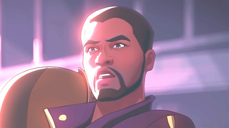 Animated T'Challa in Marvel's What if series