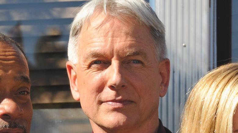 Mark Harmon close-up