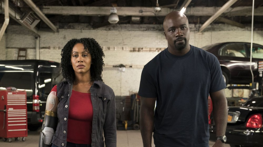 Mike Colter as Luke Cage in Luke Cage