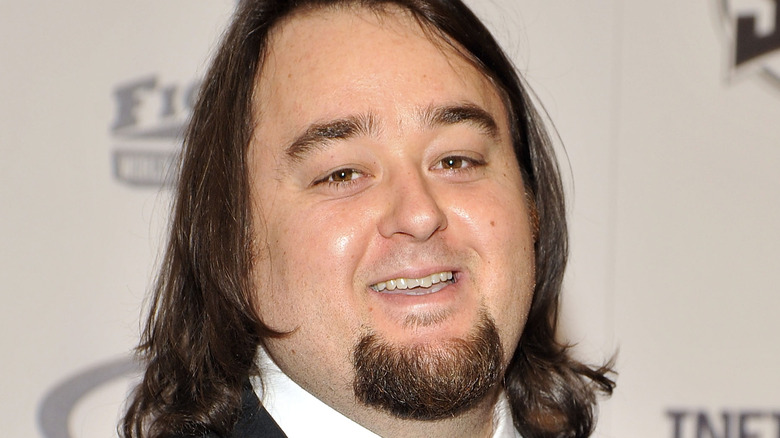 Chumlee in a suit