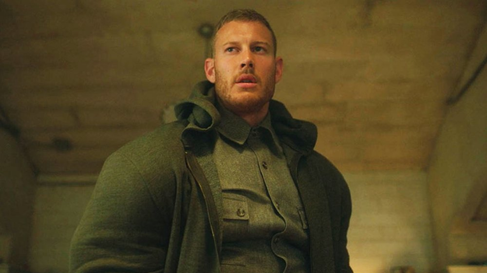 Tom Hopper as Luther Hargreeves on Netflix's The Umbrella Academy