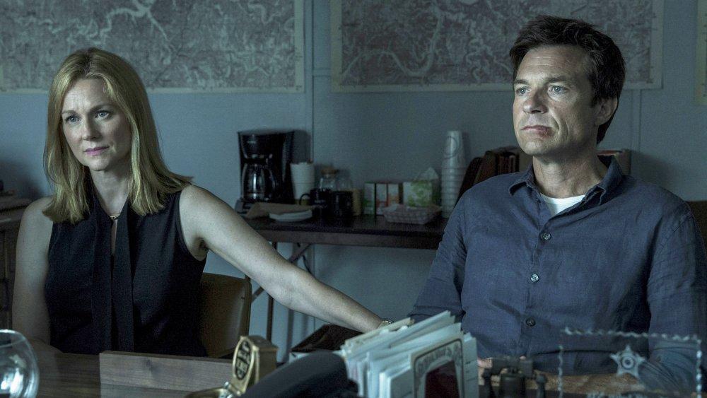 Laura Linney and Jason Bateman on Ozark