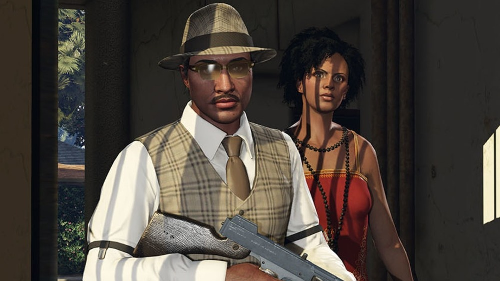 Characters from GTA Online