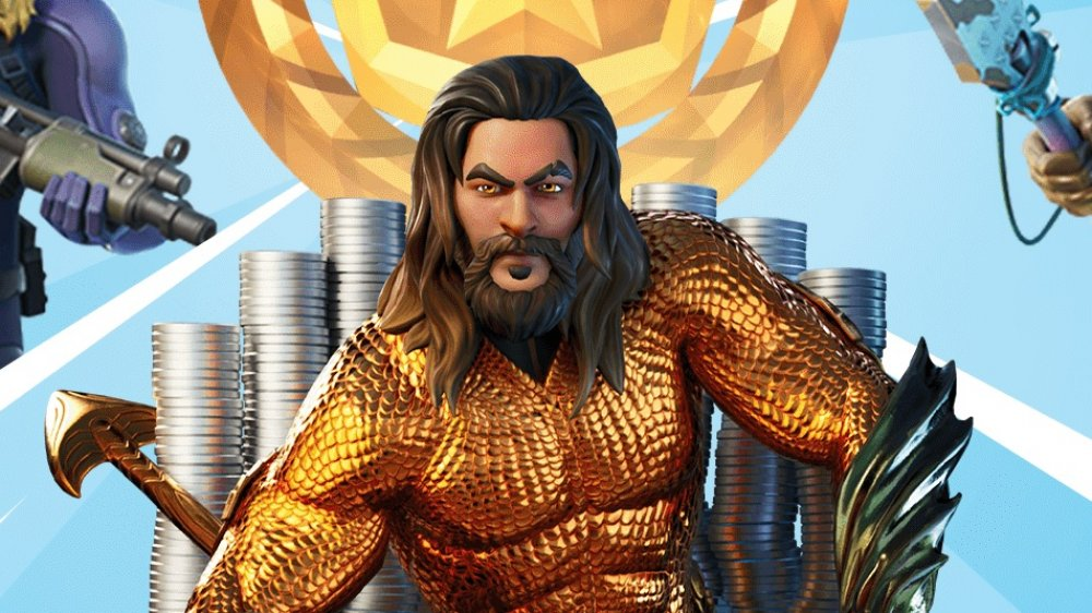 aquaman, skin, fortnite, epic games, chapter 2, season 2, unlock, earn