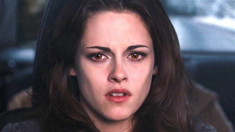 Kristen Stewart Bella Twilight Shocked