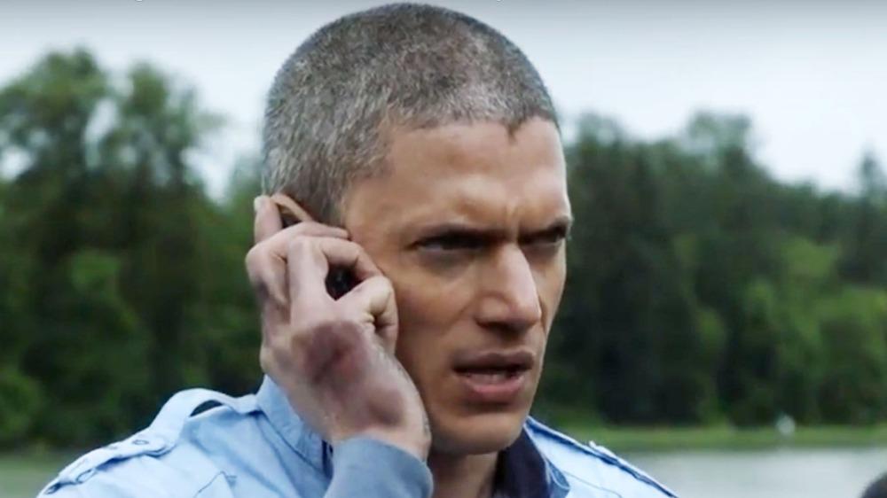 Michael on phone