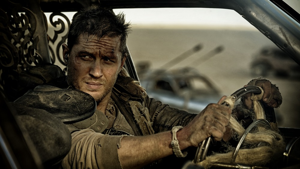 Tom Hardy's Mad Max driving