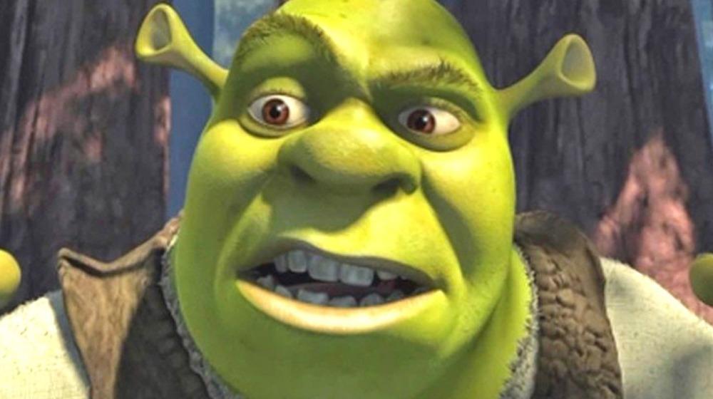 Shrek looking confused