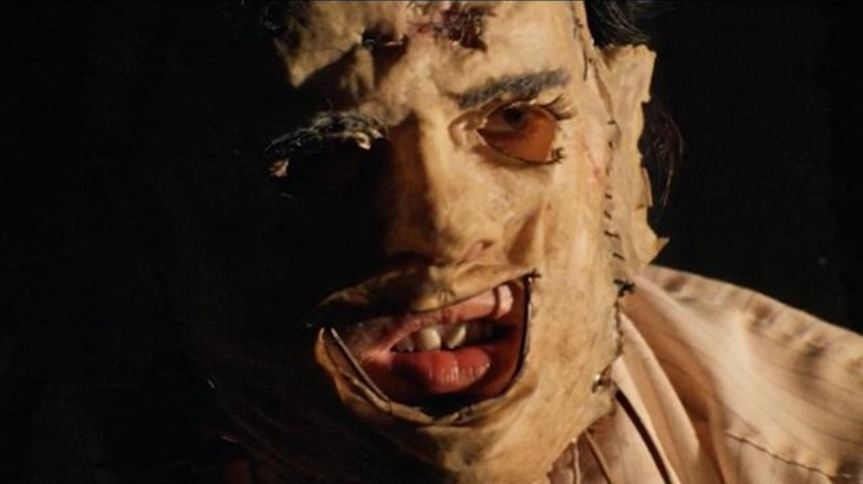 Leatherface wielding chainsaw