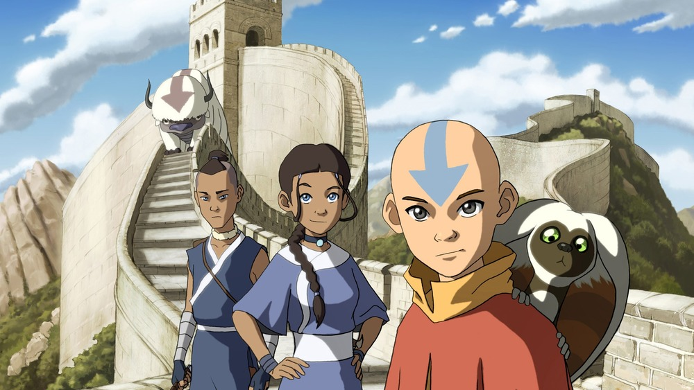 Aang, Katara, Sokka in Avatar: The Last Airbender