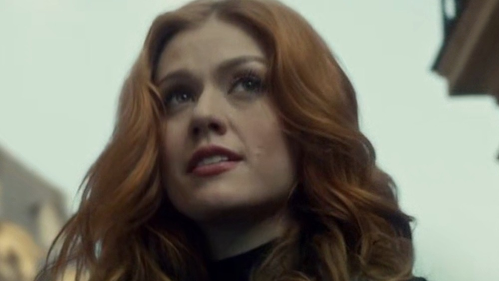 Shadowhunters' Clary smiling