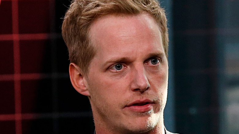 Chris Geere during interview