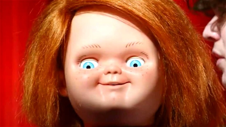 Chucky smiling