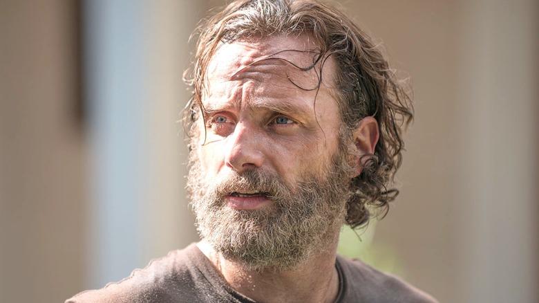 Rick Grimes worried