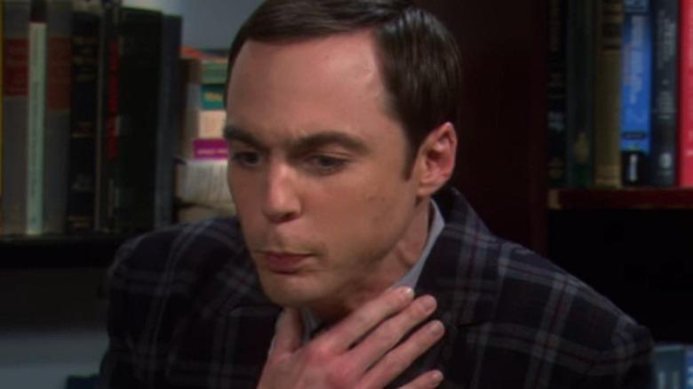 Sheldon Cooper Shocked Big Bang