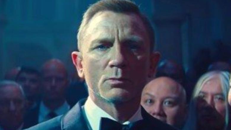 James Bond in a ballroom