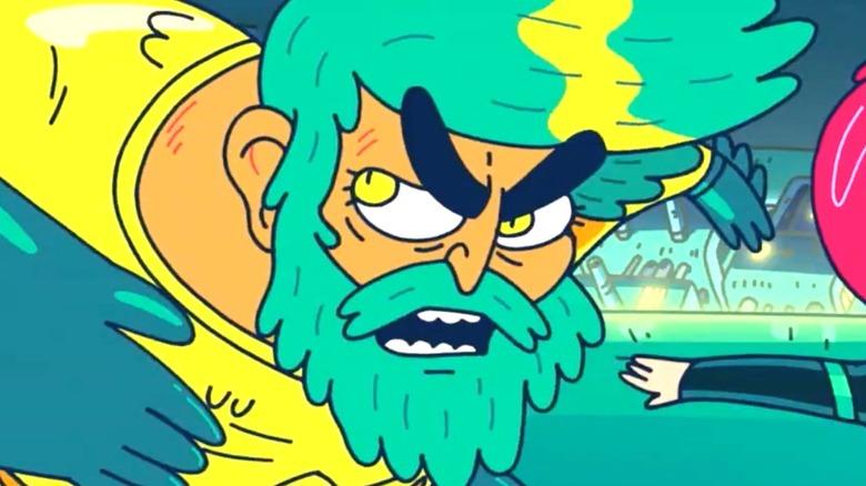 Aquaman King of Atlantis Angry Punch