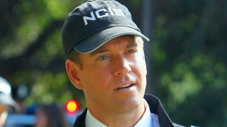 Tony DiNozzo in NCIS hat