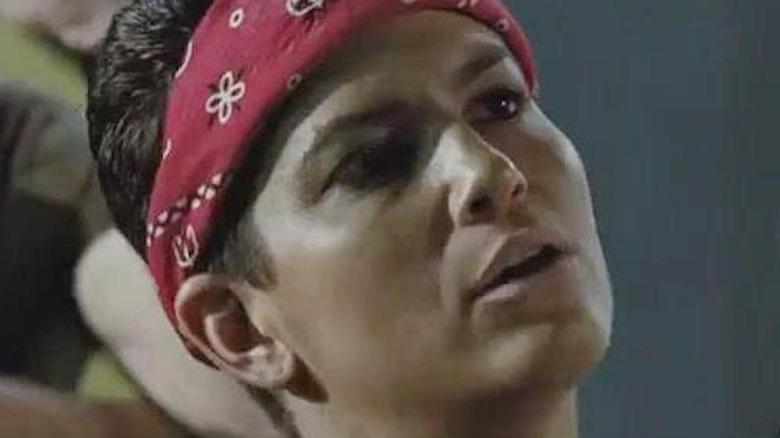 Vasquez in bandana in 'Aliens'