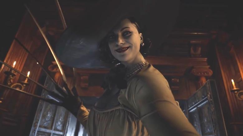 resident evil village giant vampire lady