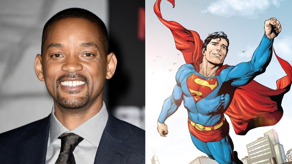 Will Smith and art of Superman by Gary Frank