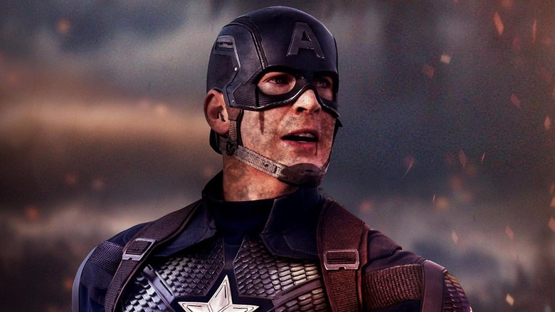 Captain America Chris Evans fan art