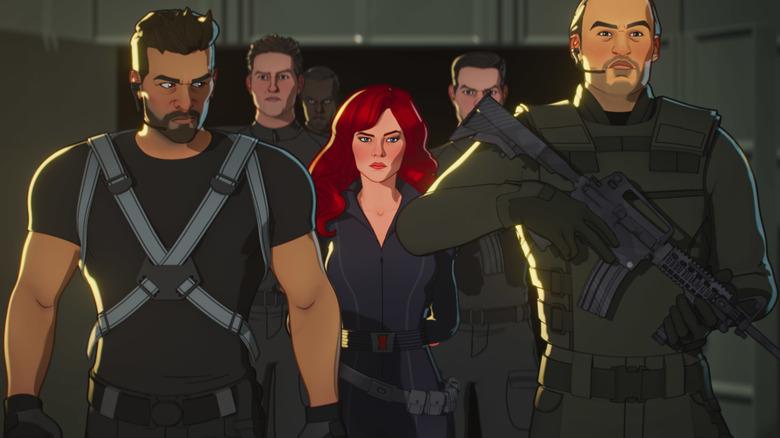 Black Widow arrested by S.H.I.E.L.D. in What If...?