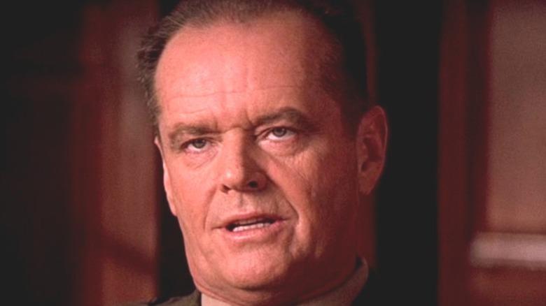Jack Nicholson in A Few Good Men