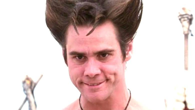 Ace Ventura hair horns